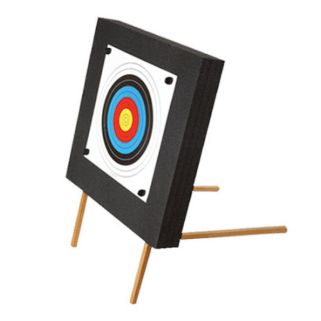 EK Archery Foam Crossbow Target Wooden Stand