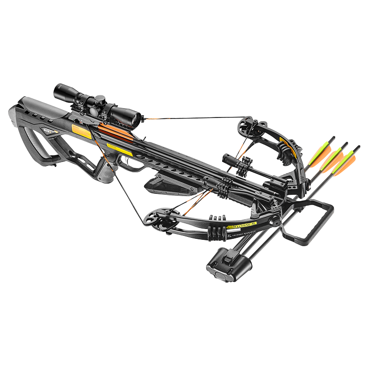 EK Archery Guillotine M+ Compound Crossbow 185 Lbs Black