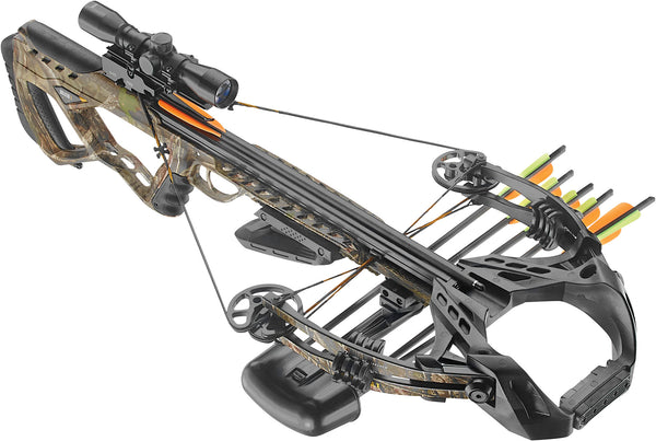 EK Archery Guillotine X+ Compound Crossbow 185lbs Camo
