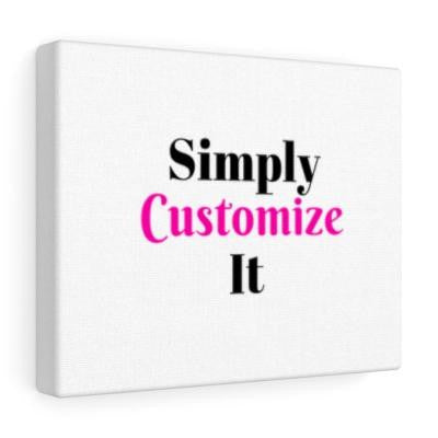 custom canvas gallery wraps by simply customize it