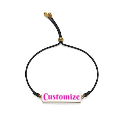 custom cord bracelet by simply customize it