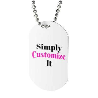 custom bag tag by simply customize it