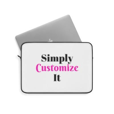 custom laptop case by simply customize it