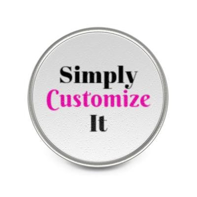 custom metal pin by simply customize it