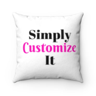 custom pillow case by simply customize it