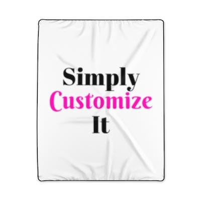 custom blanket by simply customize it