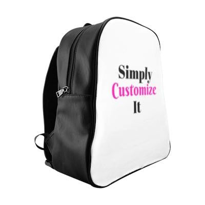 custom backpack by simply customize it
