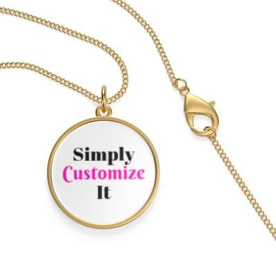 custom necklace by simply customize it