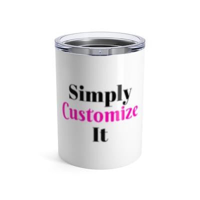 custom tumbler by simply customize it