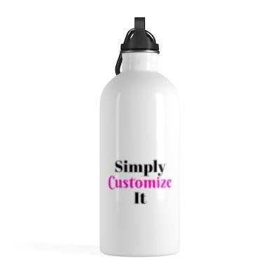 custom water bottle by simply customize it