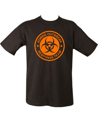 Zombie Outbreak T-shirt - Black