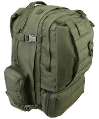 Viking Patrol Pack 60 Litre - Olive Green - CoreDog Airsoft