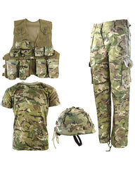 .Kids Number 1 Army Combo Set - BTP