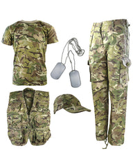 .Kids Camouflage Explorer Army Kit - BTP