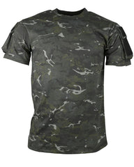 Tactical T-shirt - BTP Black - CoreDog Airsoft