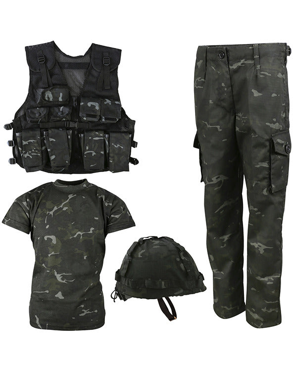 .Kids Number 1 Army Combo Set - BTP Black - CoreDog Airsoft