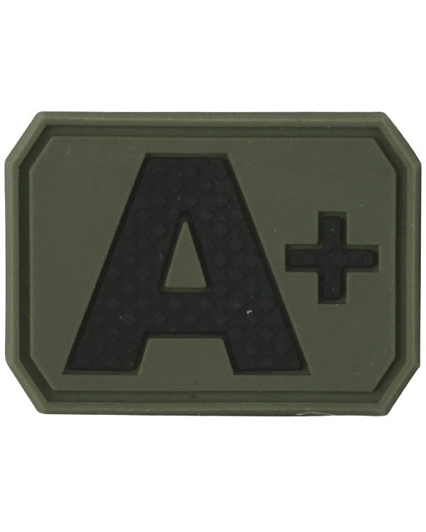 Blood Group Patch - A+ - CoreDog Airsoft