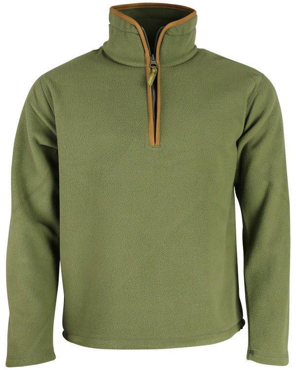 Country Fleece Pullover - Country Green - CoreDog Airsoft