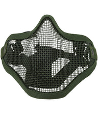 Tactical Face Mask - Olive Green - CoreDog Airsoft