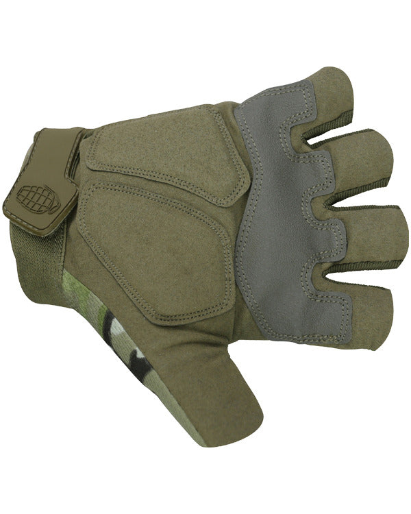 Alpha Fingerless Tactical Gloves - BTP - CoreDog Airsoft