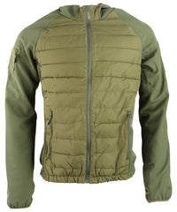 Venom Tactical Jacket - Olive Green - CoreDog Airsoft