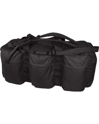 Assault Holdall 100 Litre - Black - CoreDog Airsoft