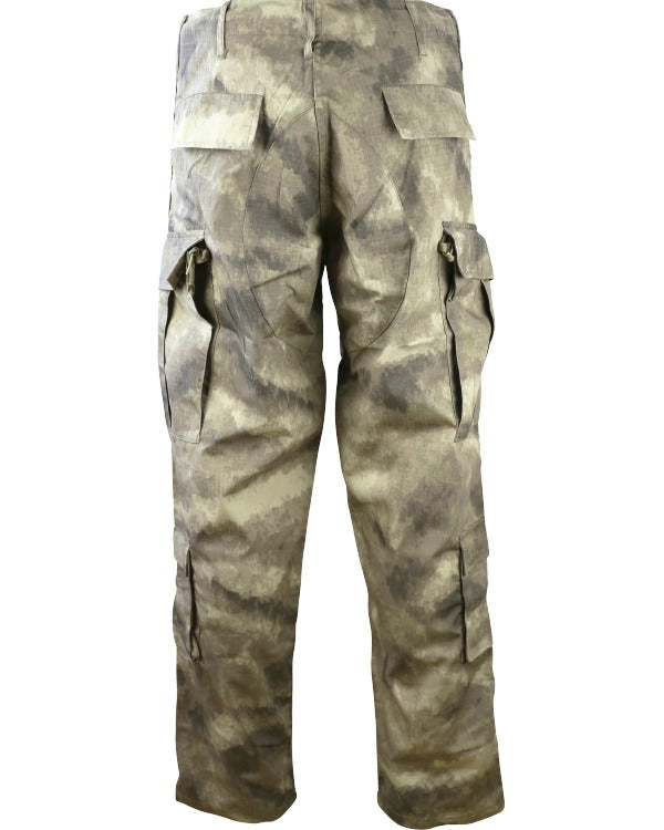 Assault Trousers - ACU Style - Smudge Kam - CoreDog Airsoft