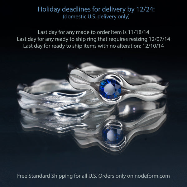 Nodeform Holiday deadlines 2014