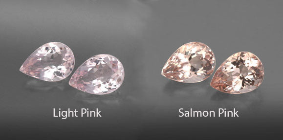 pear morganite choices