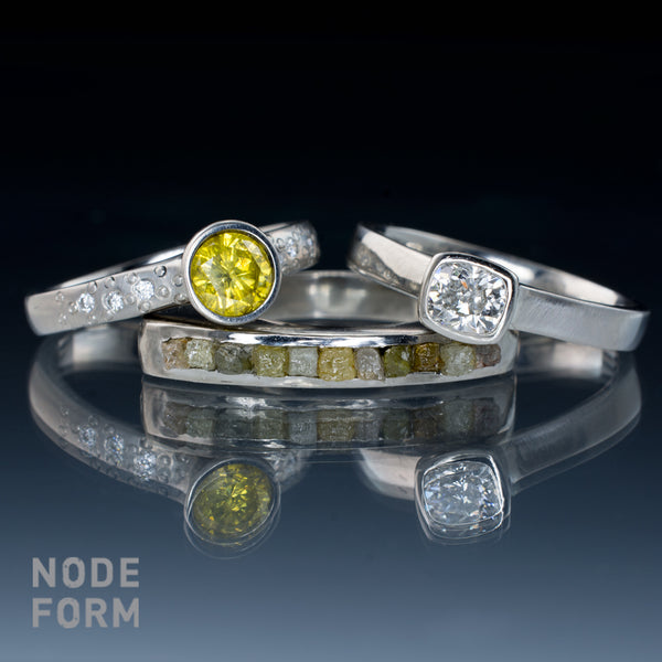 Nodeform diamond engagement rings on sale