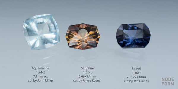 fancy precision cut custom gemstones for custom ring designs