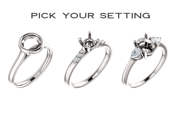 Pick your ring setting