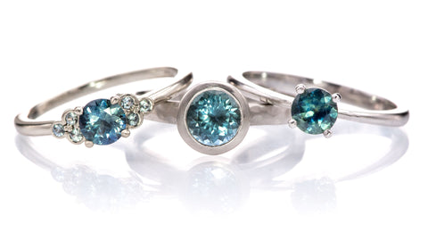 ready to ship sapphire engagement rings