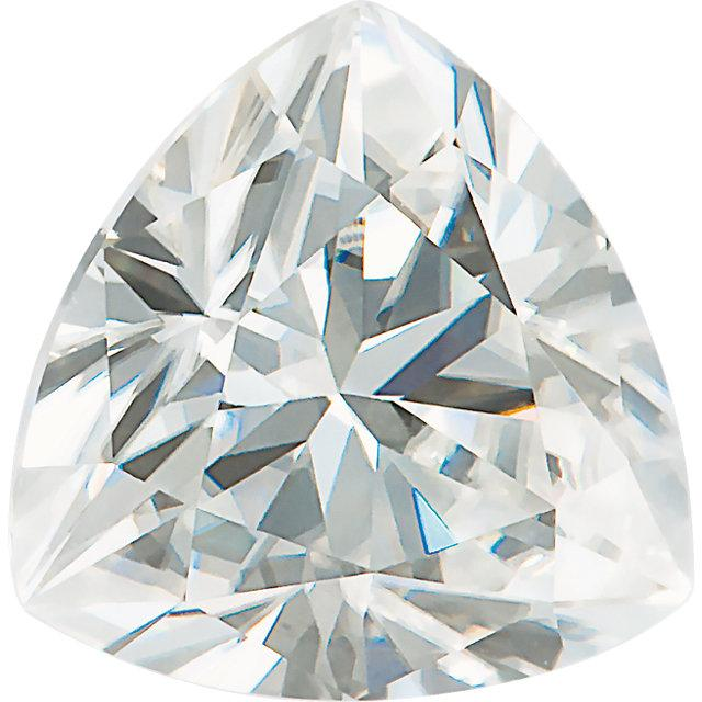 Trillion Cut Moissanite Stone