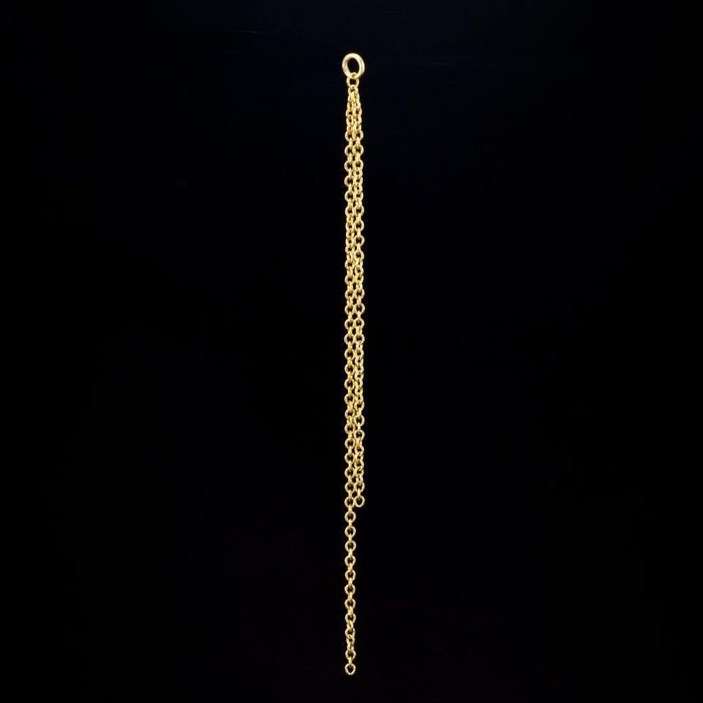 "2.5"" Long Chain Ear Jackets - by Nodeform"