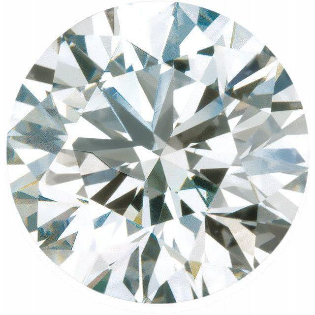 Round Brilliant Cut Lab Created Diamond Loose Stone