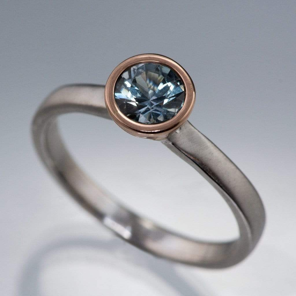 buy gold gray peach side two sapphires rose promise champagne white stones sapphire cushion bezel ring