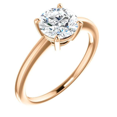Sophia Prong Set Low Basket Solitaire Engagement Ring - Setting only