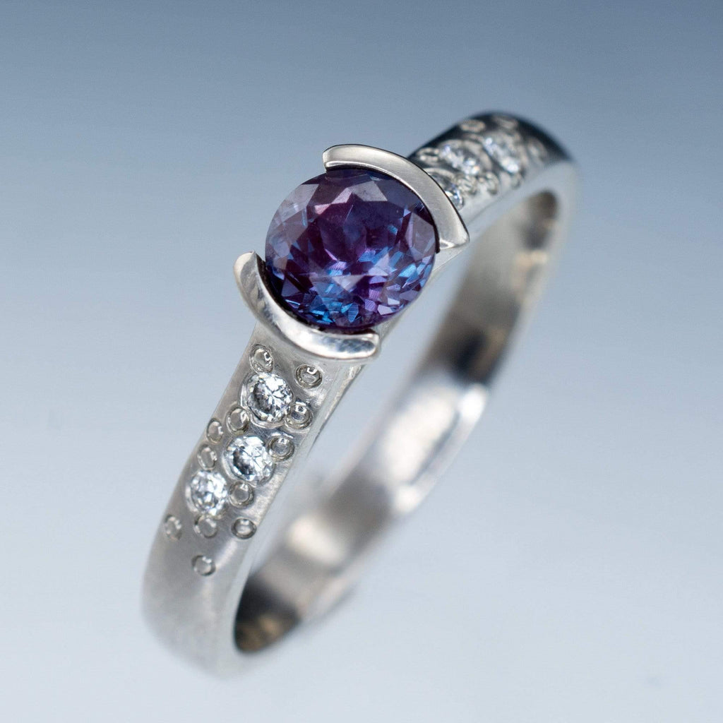 wixon ring gemstone with engagement oval diamond alexandrite jewelry jewelers rings halo large