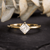 Cora Prong Set Compass Basket Solitaire Engagement Ring - Setting only - Nodeform