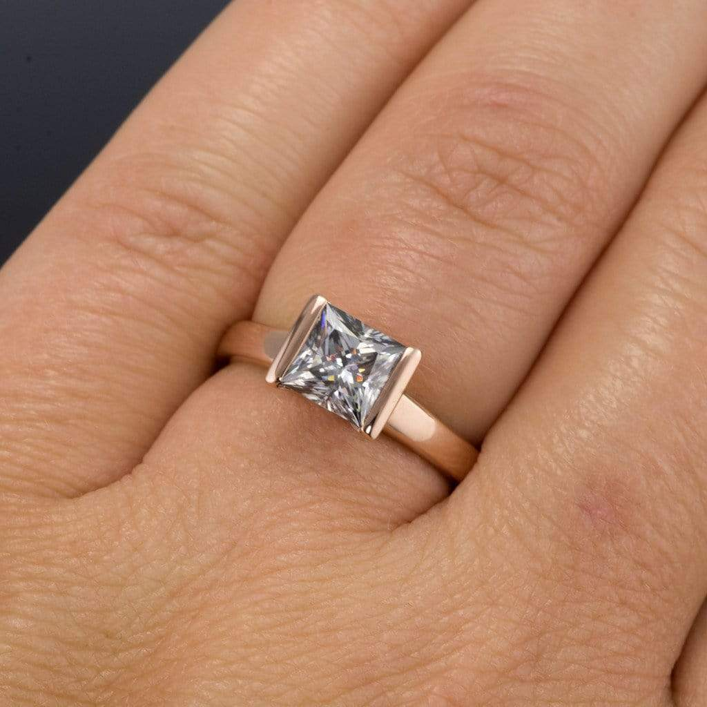 shank moissanite in diamond yellow ring sapphire two gold split media and tone engagement halo double