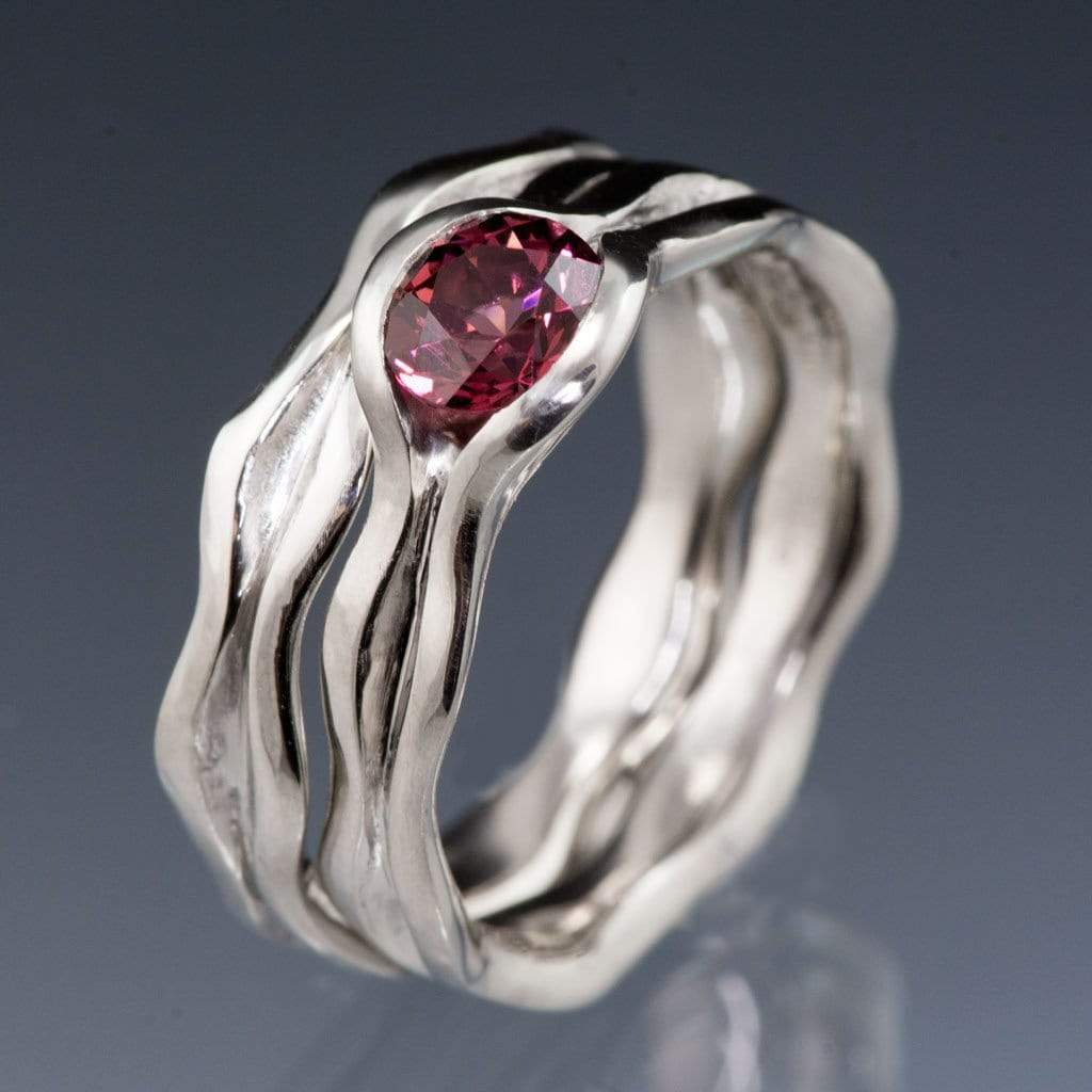ring cocktail dinny hall pink product rings in lyst rhodolite garnet jewelry