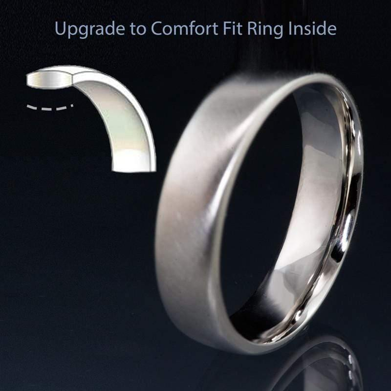 Add On for Comfort Fit Wedding Band