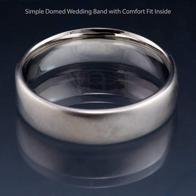 Add On for Comfort Fit Wedding Band - by Nodeform