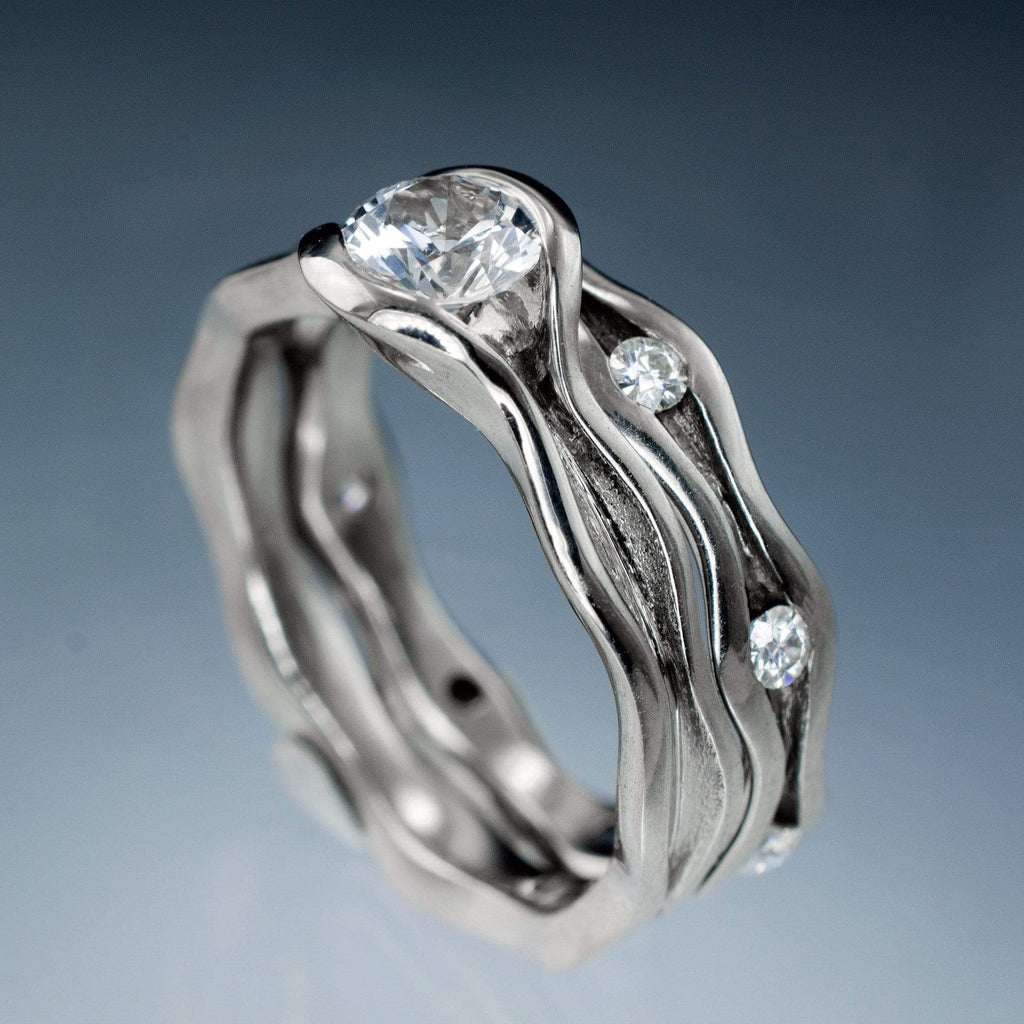 usd band platinum moissanite media one eternity jewelry anniversary forever or bands rings cut cushion carat wedding