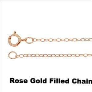 1ct Forever Brilliant Moissanite Round Rose Gold Slide Pendant Necklace, Ready to ship