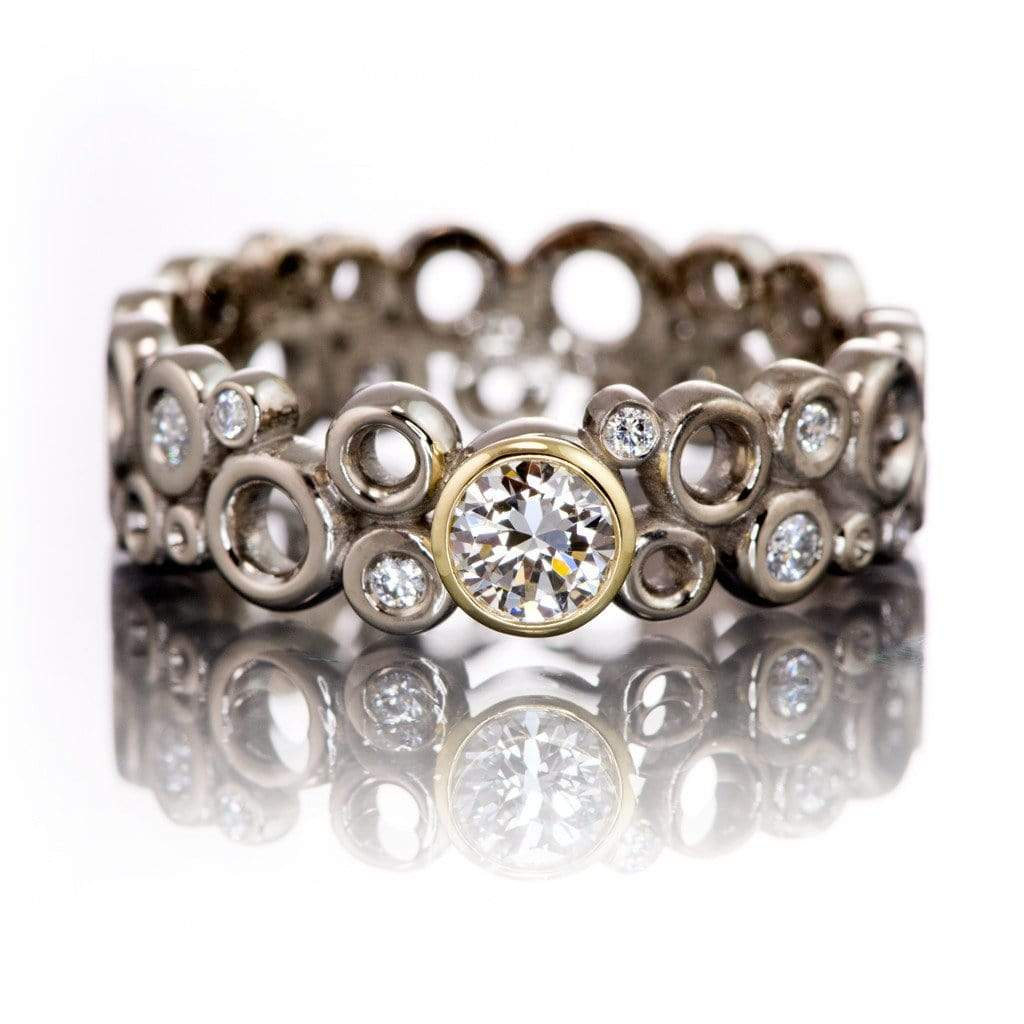 or dsc with set accents bezel by ring wedding products rings engagement dia nodeform recycled cluster engagment diamond