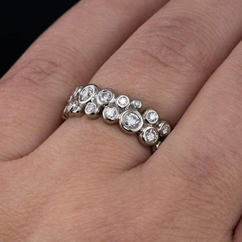 ct diamond bands ring platinum in shop tw band eternity for carat p garland