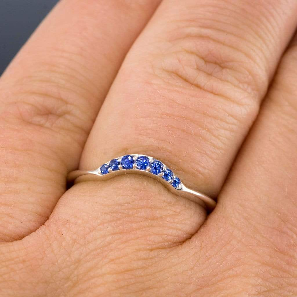 catbird video true sapphire rings yg ring blue queen snow curved