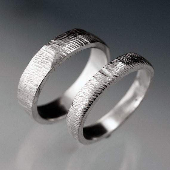 wedding titanium him and bands matching her dp rings for